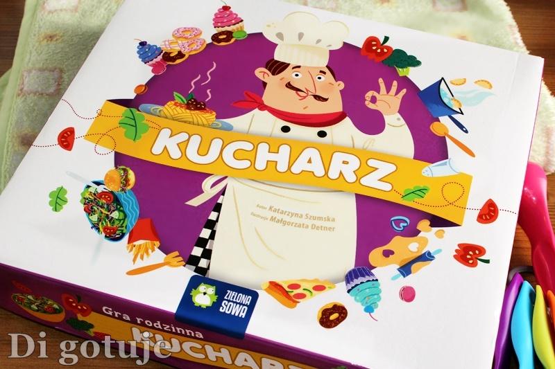 Kucharz - edukacyjna gra planszowa dla dzieci