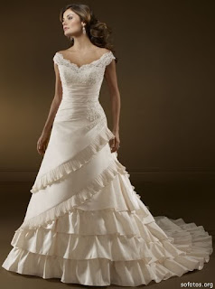 vestido de noiva simples e moderno