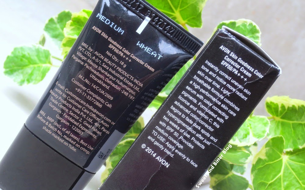 Avon Skin Goodness CC Cream SPF 50 PA+++ Review