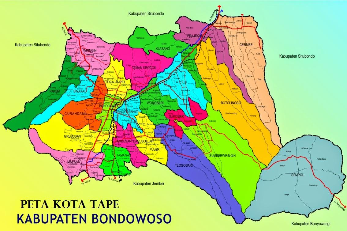 Peta Bondowoso Membangun Peta Wisata Bondowoso Jawa Timur Media