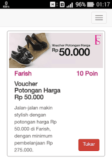 Voucher diskon Farish
