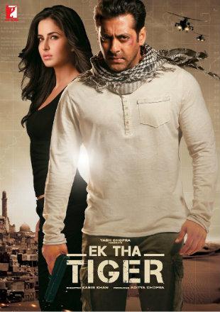 Poster of Ek Tha Tiger 2012 Full Hindi Movie Download BRRip 720p