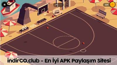 hoop basketball hile apk