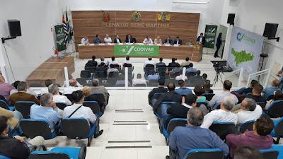 Parlamento Regional é criado  com ampla participação das cidades