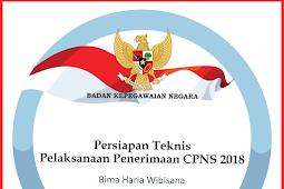 Pelaksanaan Seleksi Calon Pegawai Negeri Sipil 2018 sscn.bkn.go.id