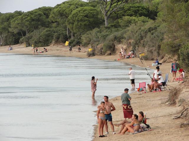 Continuación de la playa Rio San Pedro con la playa de Levante