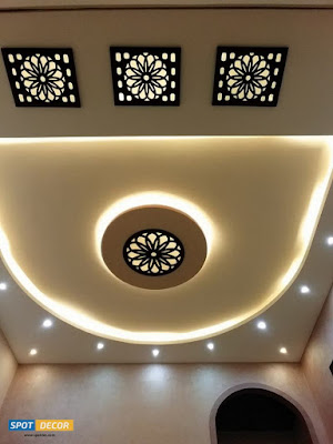 False Ceiling Decoration With CNC