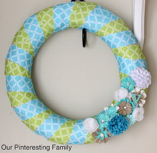 fun and easy Spring Wreath