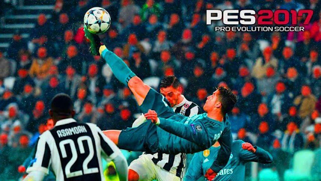 CR7 vs Juventus Start Screen PES 2017