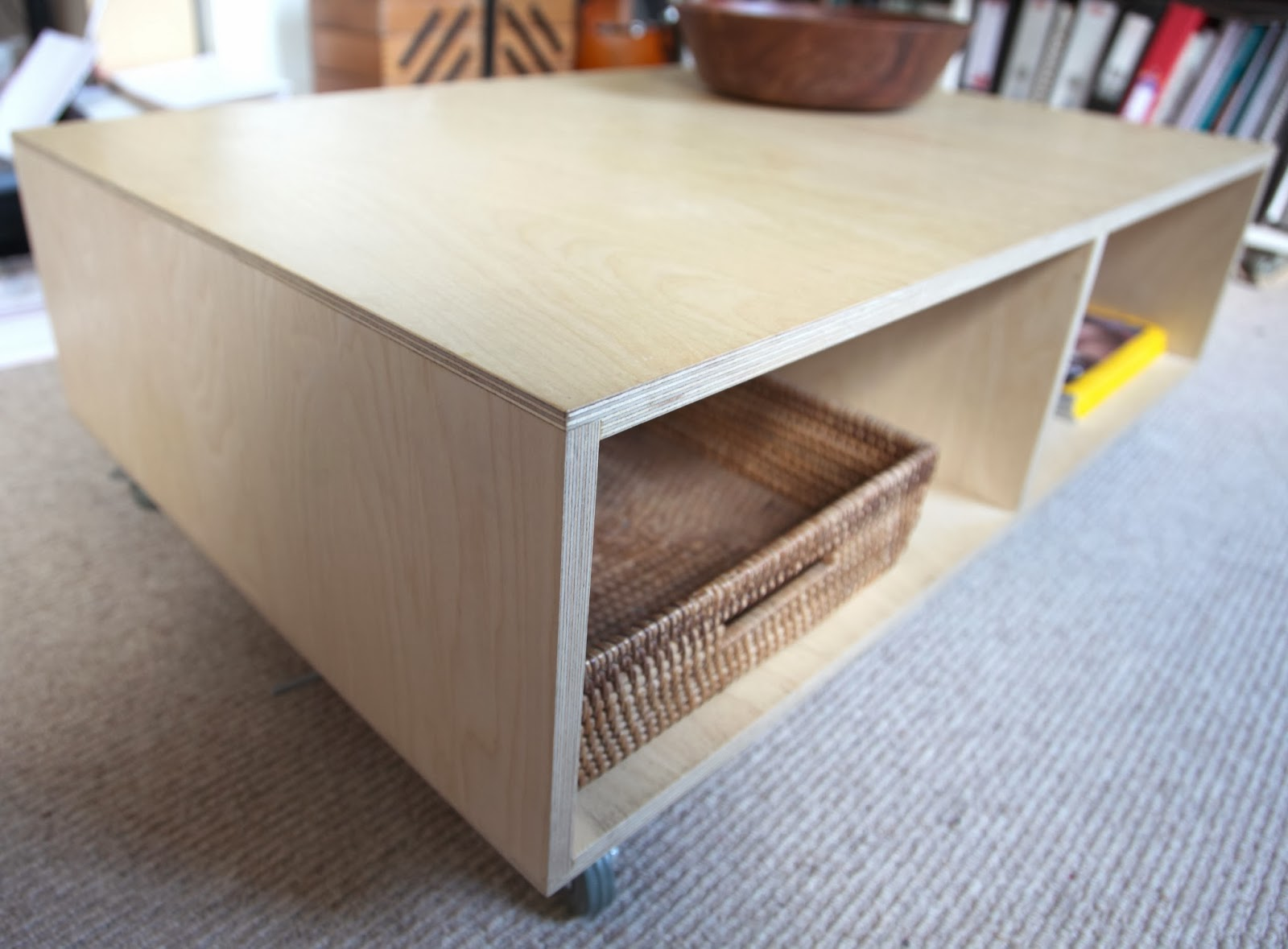 Plywood Coffee Table - Home Design