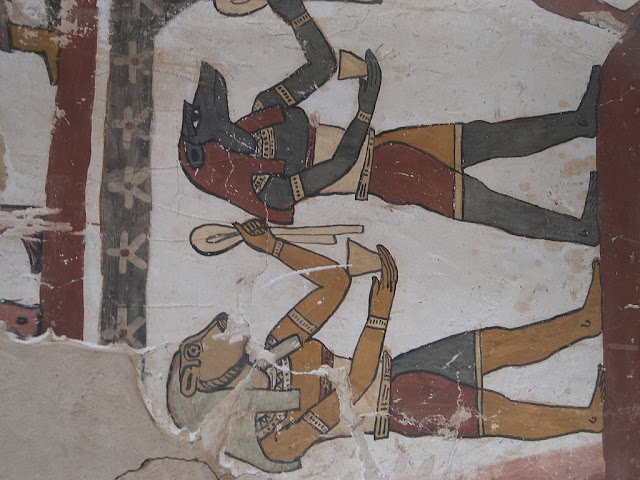 Paintings from the tomb of Petosiris at Muzawaka (XV)