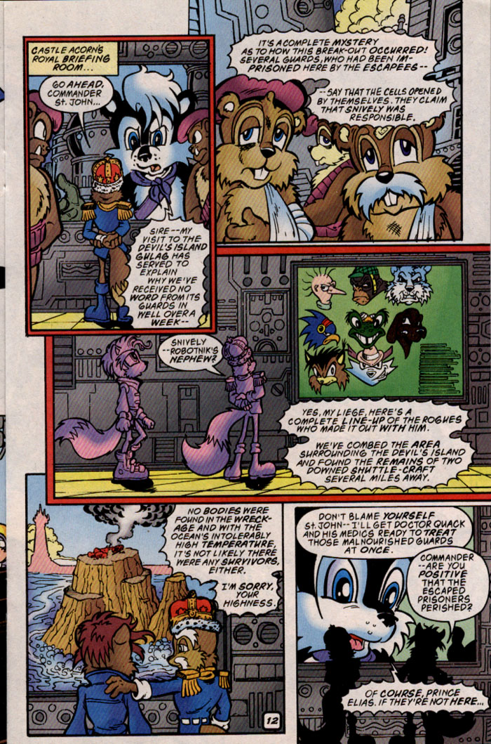 Read online Sonic The Hedgehog comic -  Issue #69 - 12