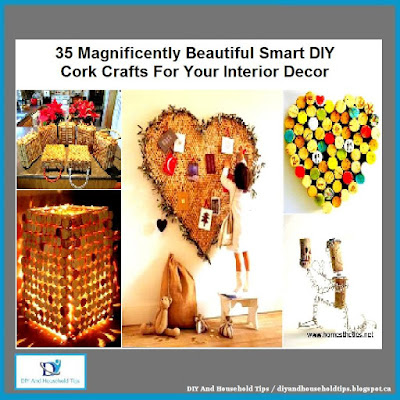 35 Magnificently Beautiful Smart DIY Cork Crafts For Your Interior Decor