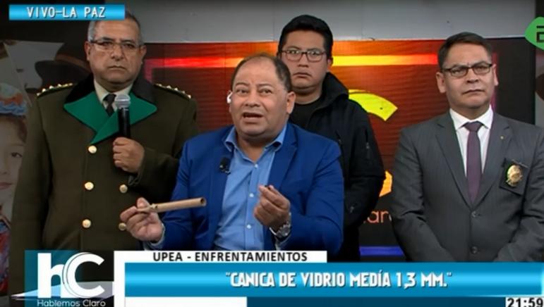 Ministro Romero y Policía dicen que el caso está esclarecido / CAPTURA PANTALLA BTV