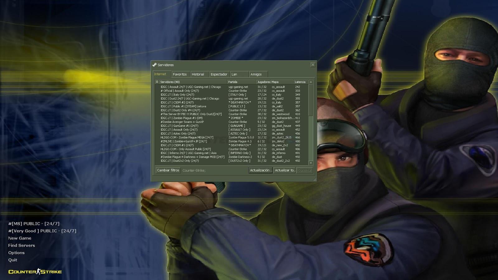 Counter strike 1.6 online bot paketi indir