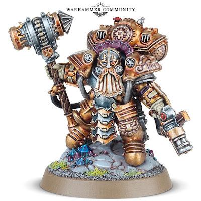 warhammer age of sigmar kharadron overlords arkanaut admiral dwarf miniature stem punk