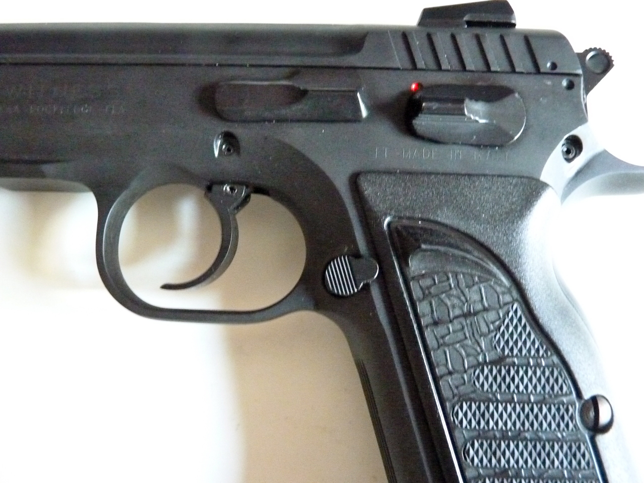 Pistol Report: Pistol Report - Review of the EAA Witness