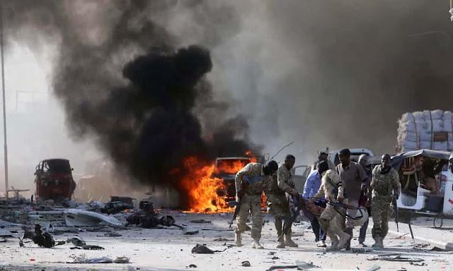 Innalillahi, Terjadi Ledakan Bom Truk di Somalia