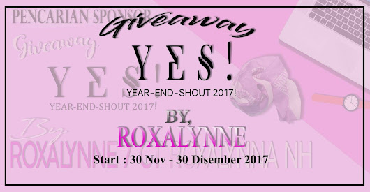 . NUR HUSNA .: GIVEAWAY YES 2017 BY ROXALYNNE