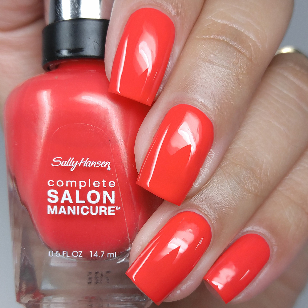 Sally Hansen - June 2017 Color of the Moment | Flushed Coral ...