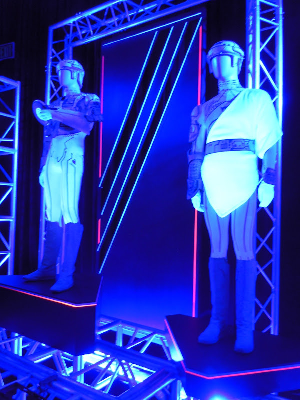 Ram and Flynn Tron costumes