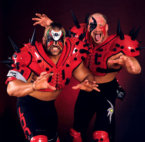 Pressing Catch WWF - Los Malditos