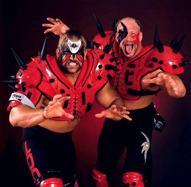 Pressing Catch WWF - Los Malditos
