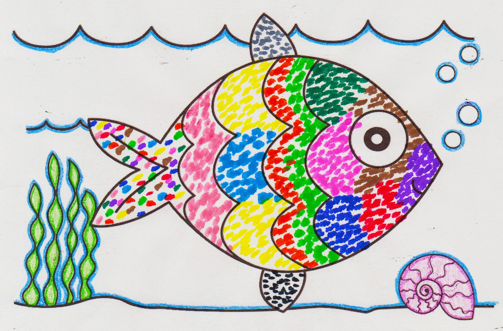 The Girl Scout Life Embers The Rainbow Fish