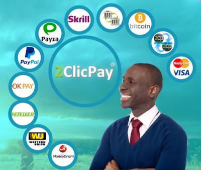 شرح مفصل لكيفية التسجيل في بنك 2clicpay و كيفية تفعيل الحساب وتحويل الاموال بين البنوك الأخري