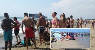 napoli tragedia in spiaggia