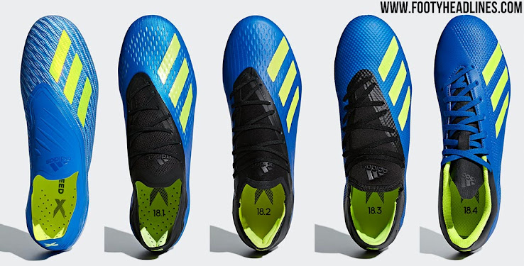 Very Cheap vs Very Expensive - Compare All Next-Gen Adidas X 2018 ... 3124c7065