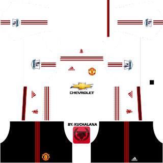 Manchester United Kits 2015/2016 - Dream League Soccer