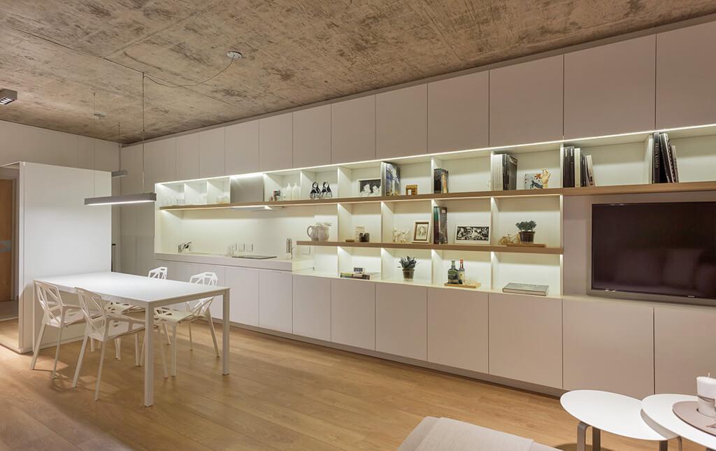 Cocinas con estilo for Cocinas minimalistas blancas