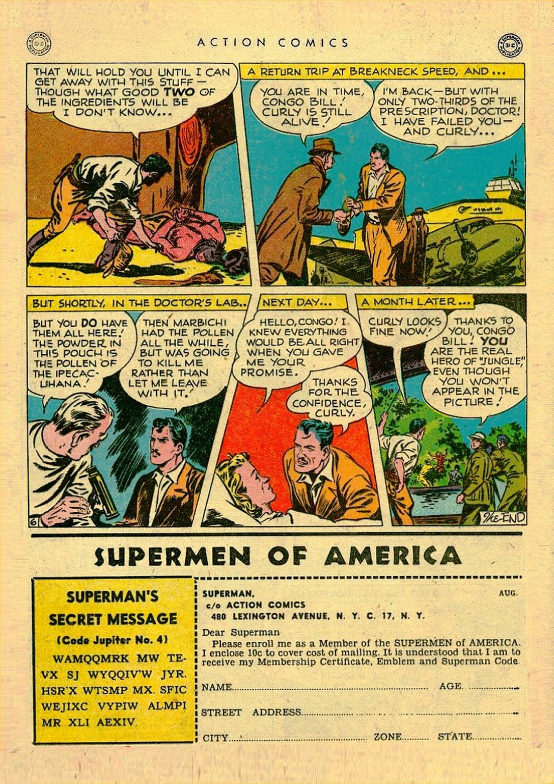 Read online Action Comics (1938) comic -  Issue #111 - 22