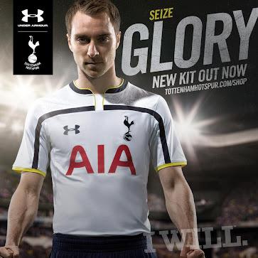 83d31b951 Tottenham Hotspur 2014-15 Kits - Footy Headlines