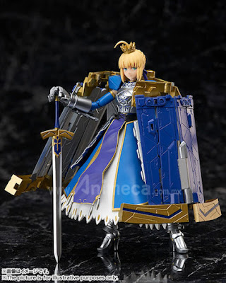 Figura Saber/Artoria Pendragon & Variable Excalibur Armor Girls Project Fate/Grand Order