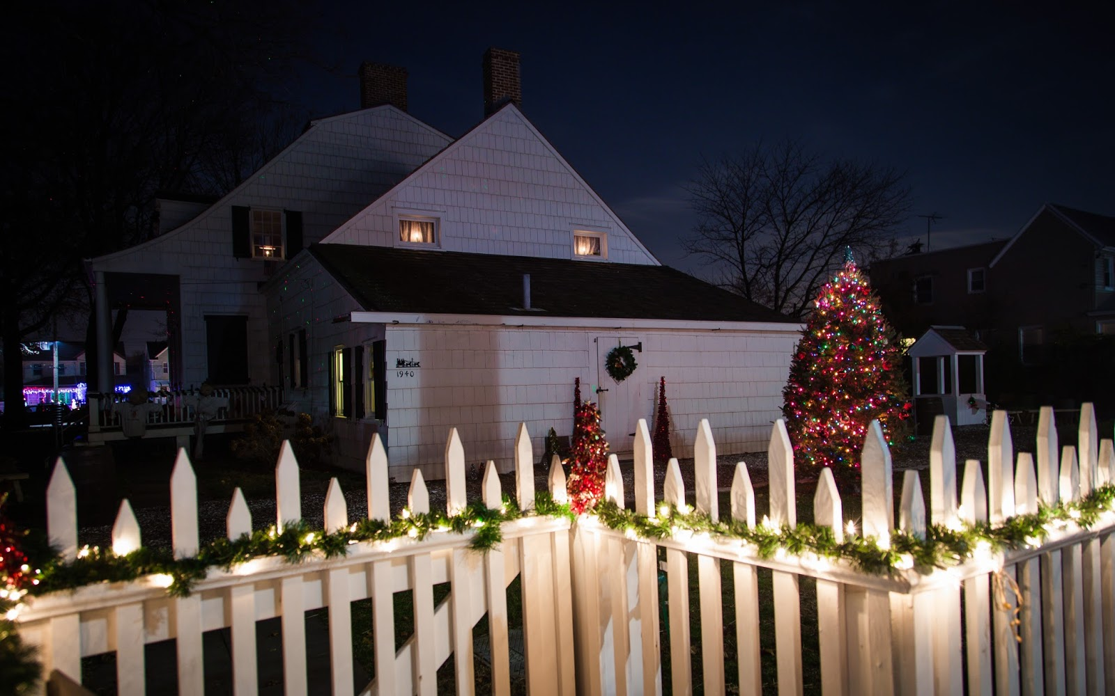 Image result for Hendrick I. Lott House Tree Lighting, Marine Park:""