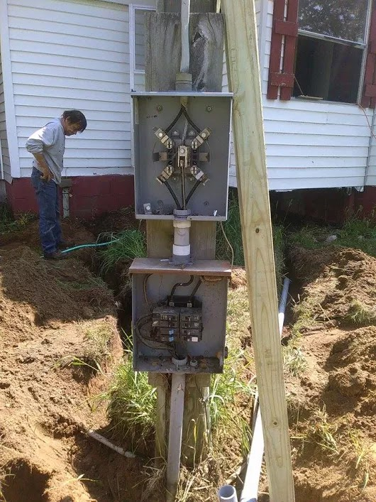 Pure Sinewave Inverter/Battery Bank/PLC-Microgrid Electrical ... on mobile home meter panel, mobile home electrical pole, mobile home water meter fittings, mobile home meter socket,