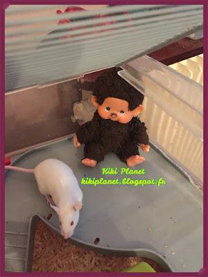 monchhichi kiki souris mouse vintage nostalgykiki jouet petit