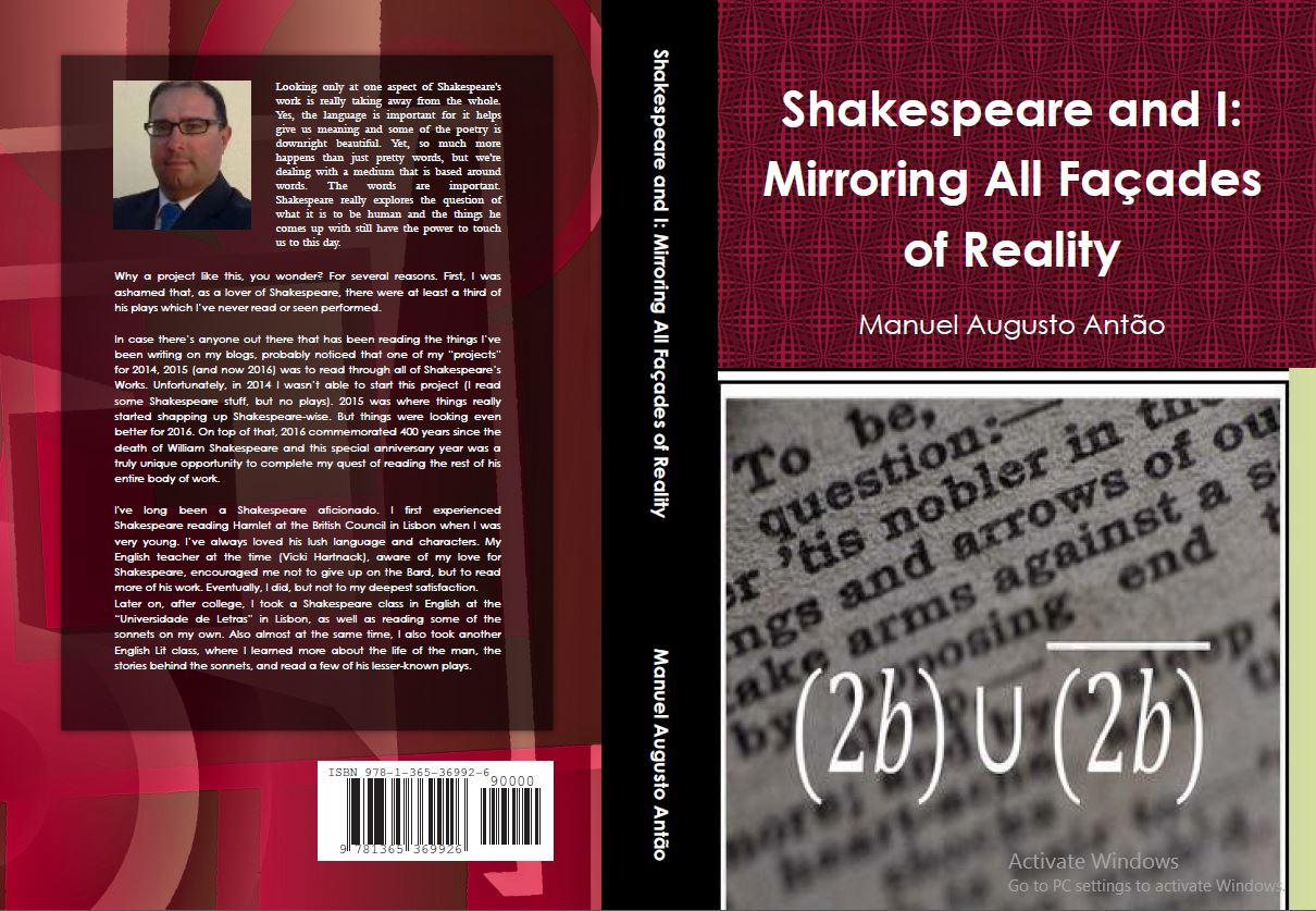 """Shakespeare and I - Mirroring All Façades of Reality""by MySelfie"