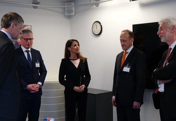 Princess Marie attended a working meeting with Civil Defence experts with Danish Emergency Agency. style royals