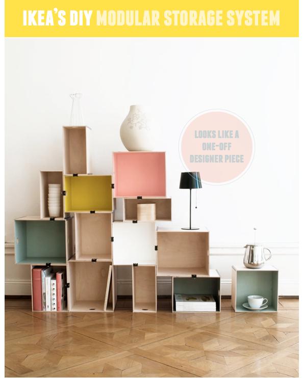 Ikea Prant Diy Modular Storage