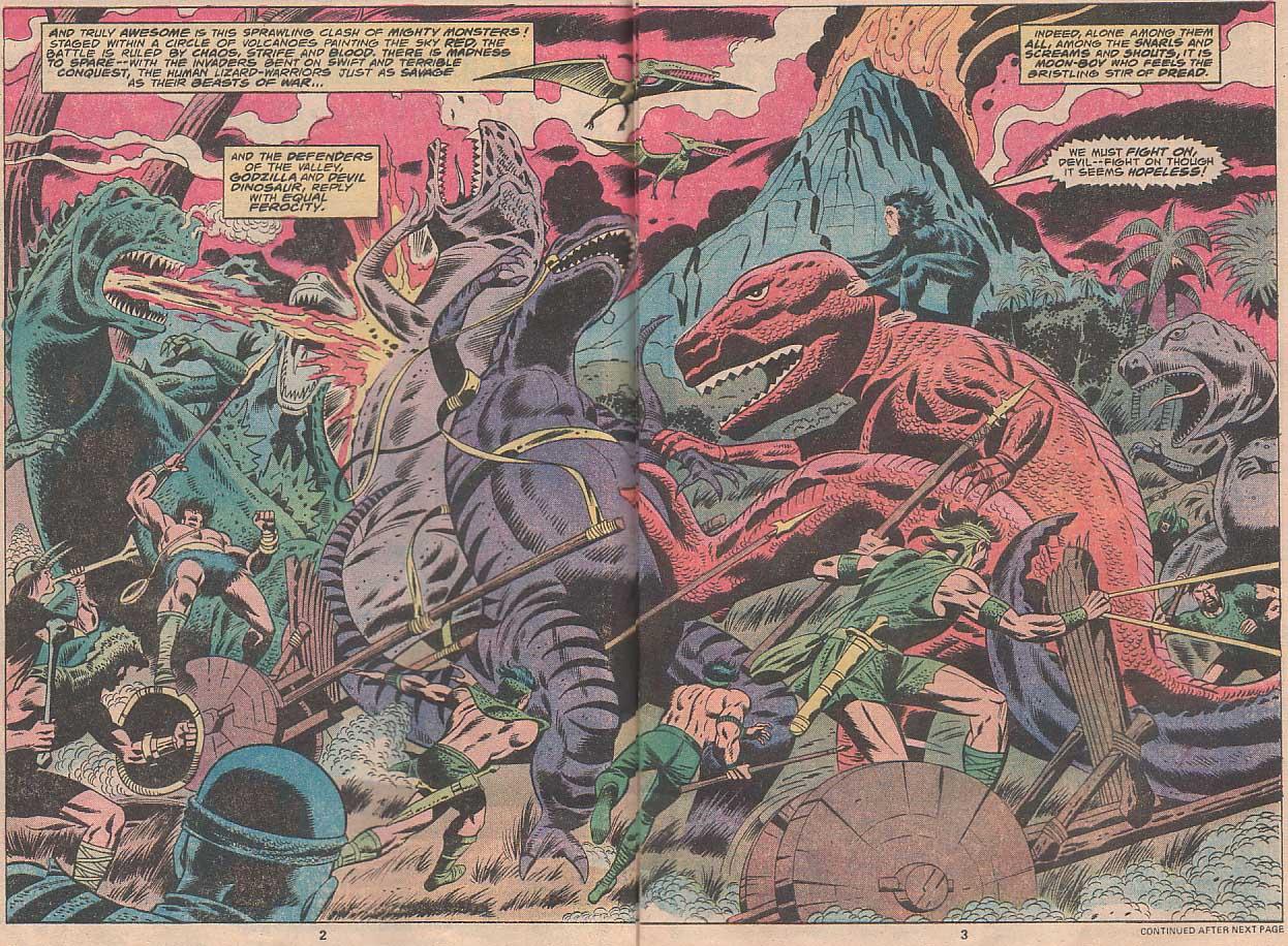 Godzilla (1977) Issue #22 #22 - English 3