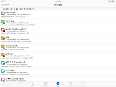 Coolstar ينشر احدث مراحل تطوير سيديا جيلبريك iOS 11