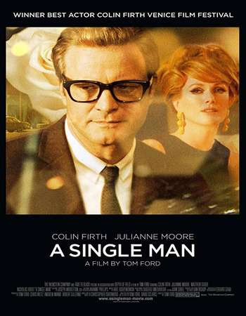 Poster Of A Single Man 2009 In Hindi Bluray 720P Free Download