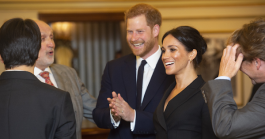 Glitter and Gold for Meghan at Hamilton