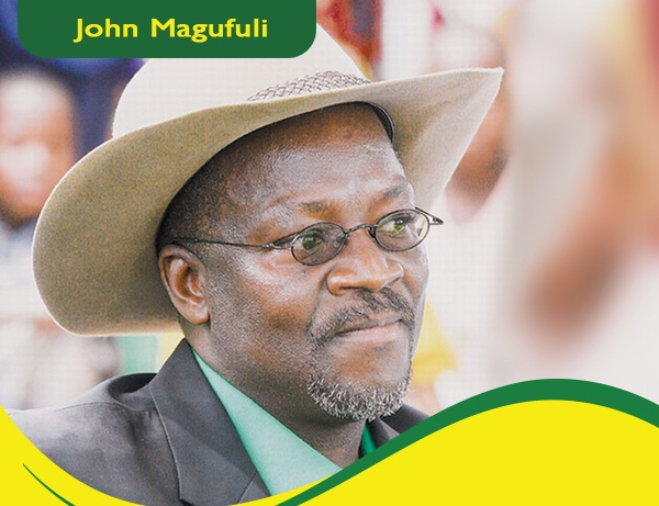 Dr John Pombe Magufuli is the presidential candidate for the CCM ticket
