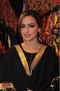 Bollywood Actress Sana Khan Launches Aakrithi Exibition  0121.JPG