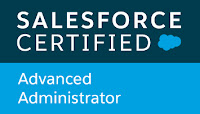 Salesforce Certified Advanced Administrator verification for Richard Upton