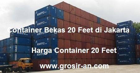 Container 20 Feet Spesifikasi